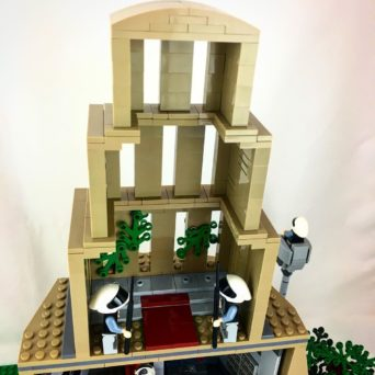 LEGO Star Wars Yavin IV Rebel Base MOC
