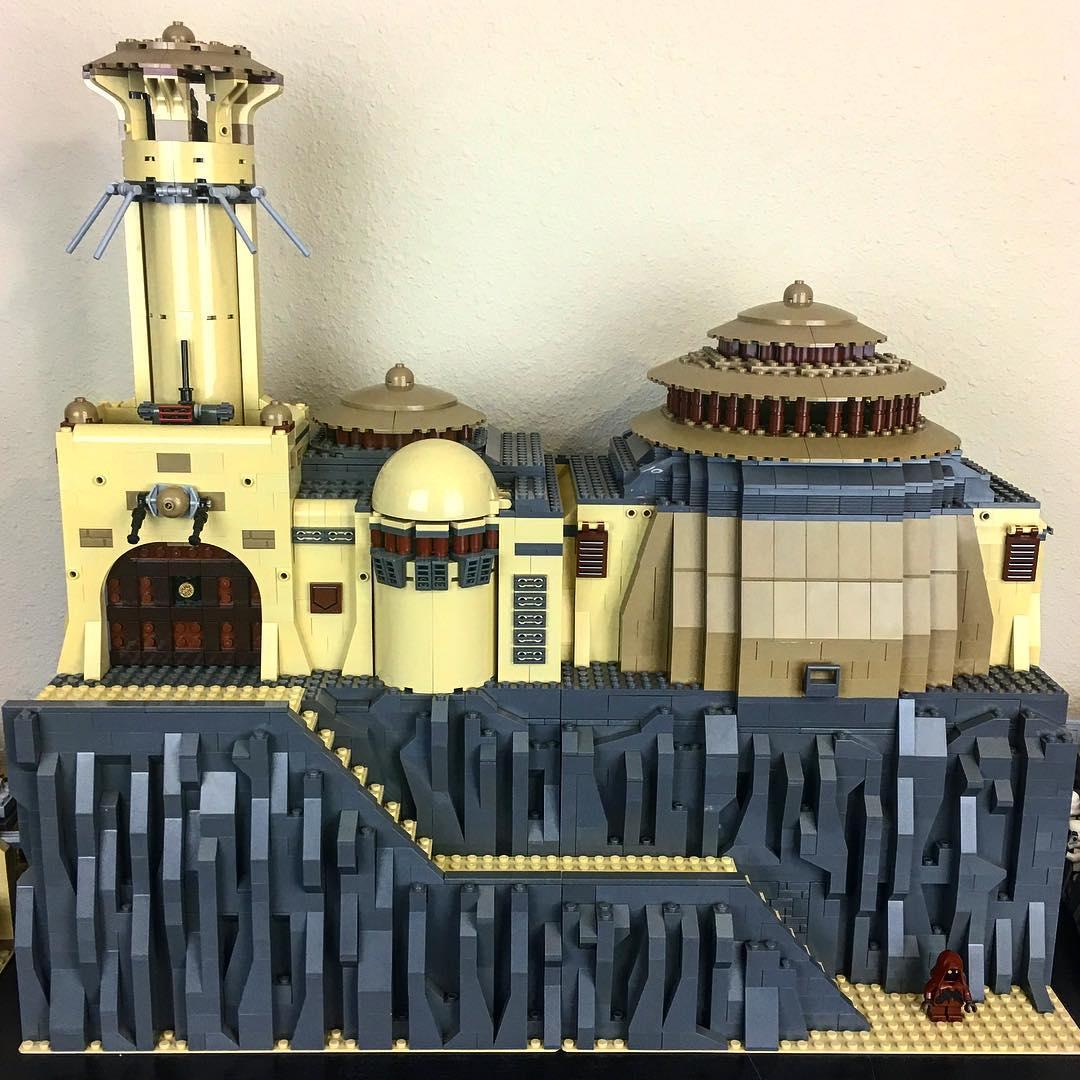 LEGO Star Wars Jabba's Palace MOC