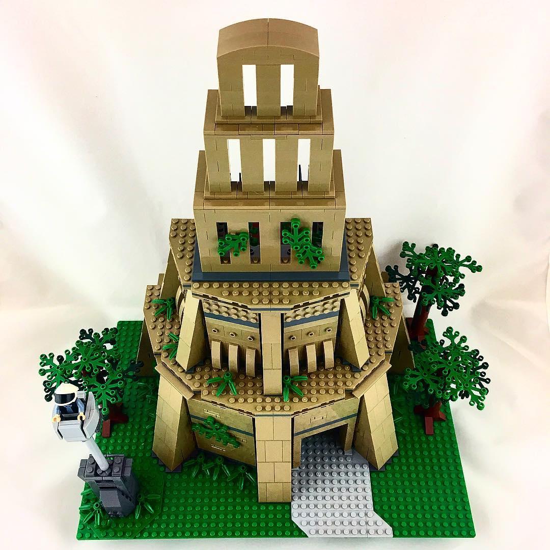 LEGO Star Wars Yavin IV Rebel Base MOC